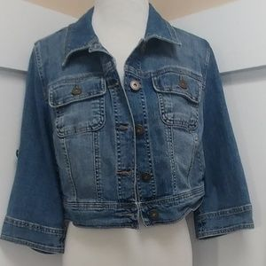 14W/16W Lane Bryant Denim Jacket!